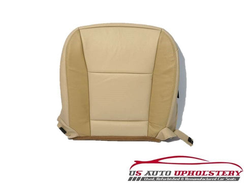 06-08 Ford Explorer Limited Driver Side Bottom Replacement Leather Seat Cover - usautoupholstery