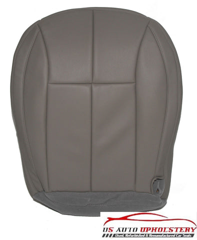 1999 2000 2001 2002 Jeep Driver Bottom Synthetic Leather Seat Cover Gray - usautoupholstery