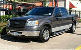 2008 Ford F150 Lariat 4x4 Crew-Cab *Passenger Lean Back Leather Seat Cover BLACK - usautoupholstery