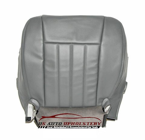 2008 Dodge dakota driver Side Bottom Synthetic Leather Seat Cover GRAY - usautoupholstery
