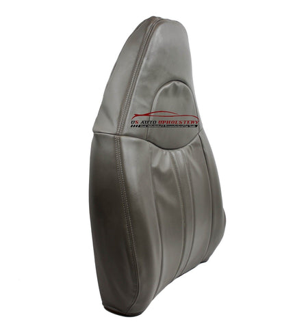 2007-2010 Chevy Express Cargo Van 2500 Driver Lean Back Synthetic Leather Gray - usautoupholstery
