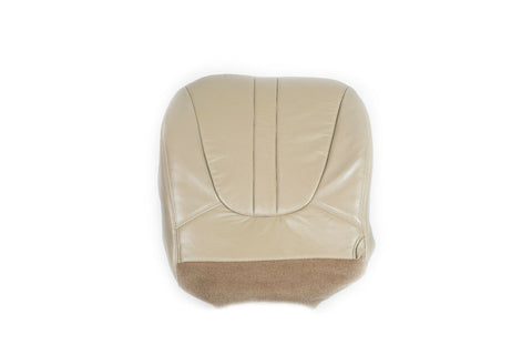 2000 Ford Expedition Eddie Bauer 4WD Driver Side Bottom Leather Seat Cover TAN - usautoupholstery