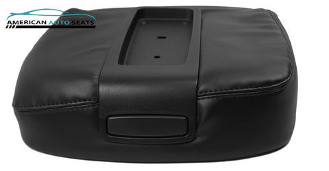 2007-2013 Chevy Avalanche LS LTZ -Center Console Lid Replacement Cover BLACK - usautoupholstery