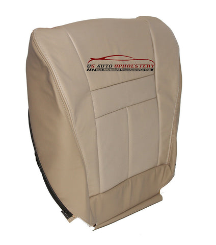 02 Toyota 4Runner SR5 Passenger Bottom Perforated Leather Seat Cover Tan - usautoupholstery