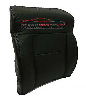 2007 Ford F150 XL Standard Cab Pickup *Driver Lean Back Leather Seat Cover BLACK - usautoupholstery
