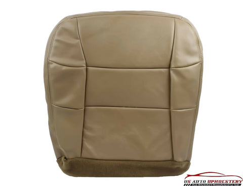 1998 1999 Lincoln Navigator 4X4 Bucket Driver Side Bottom LEATHER Seat Cover TAN - usautoupholstery