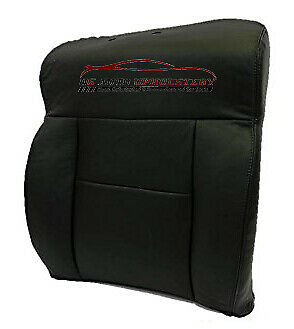 2007 Ford F-150 Lariat 2WD Super-Crew *Driver Lean Back Leather Seat Cover BLACK - usautoupholstery