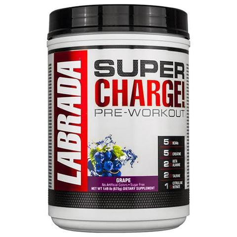 SUPER CHARGE® PRE-WORKOUT Grape