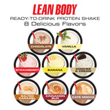 Leanbody Cookies & Cream 500ml - 12stk