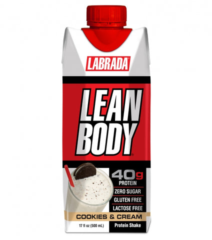 LEAN BODY® Cookies & Cream 500ml - 12. stk