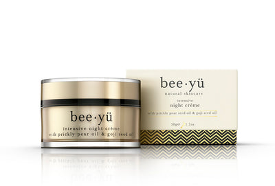 manuka honey night cream moisturiser by bee yü natural skincare