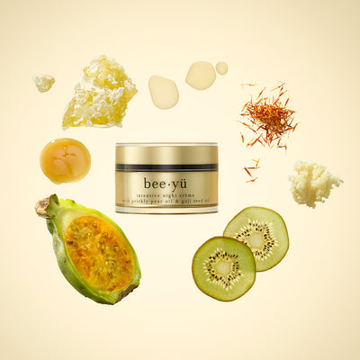bee yü manuka honey night cream with its natural ingredients