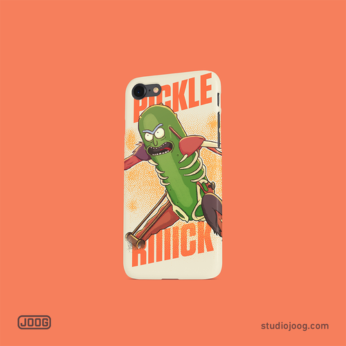 Pickle Rick - phone case