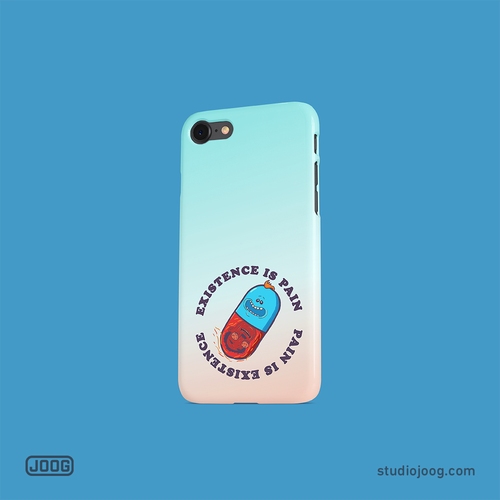 Existence is pain – phone case