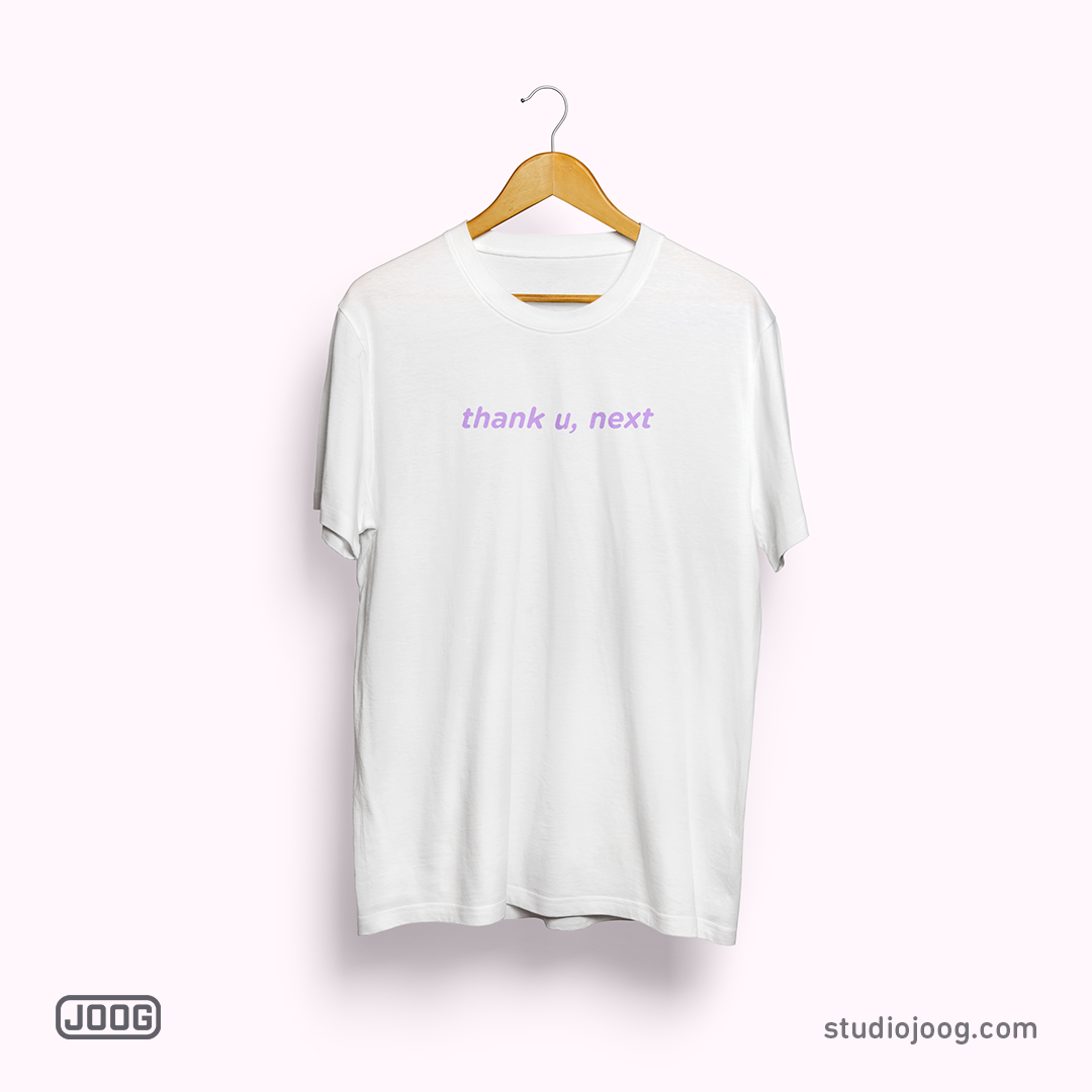 thank u, next - t-shirt