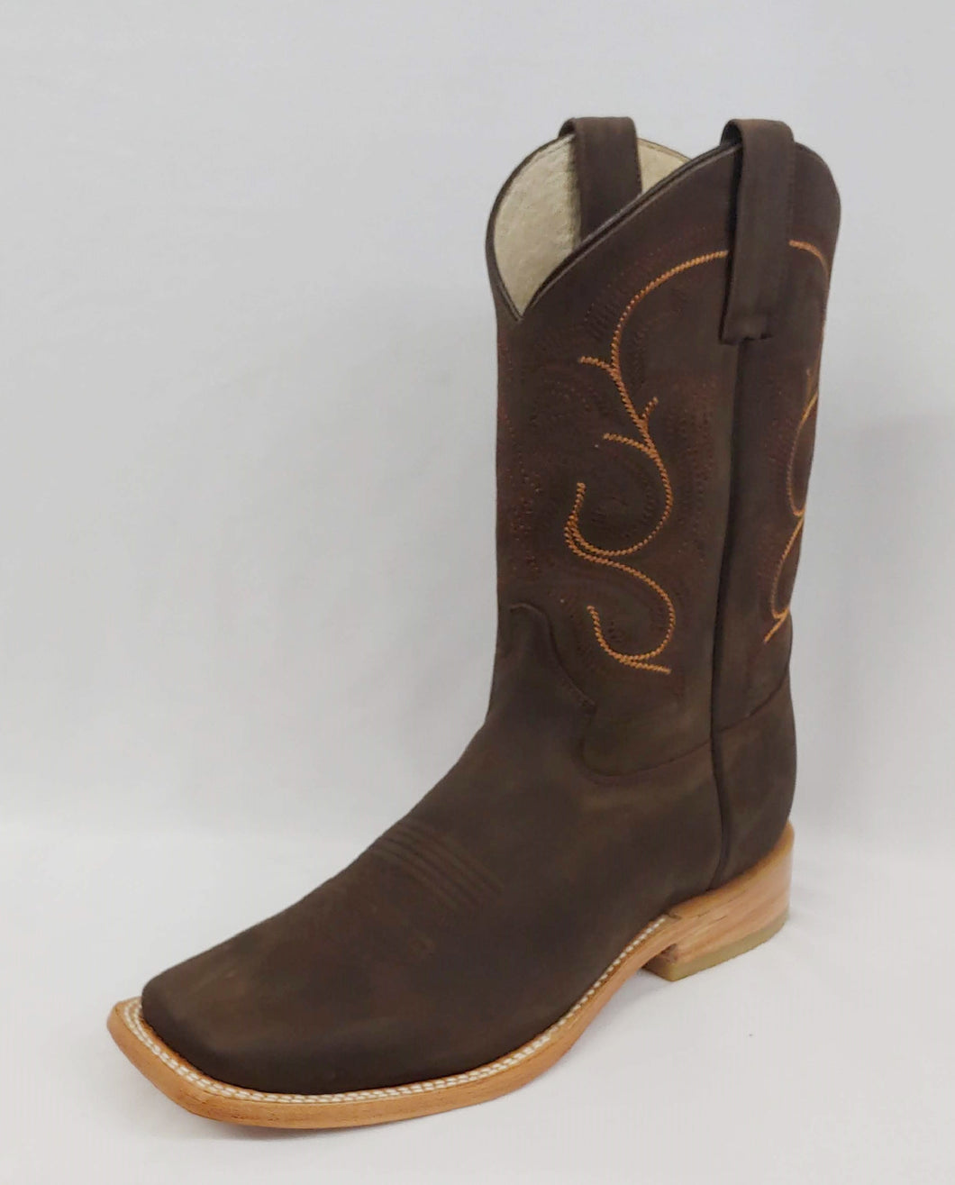Chocolate Brown  Rodeo Cowboy Boot