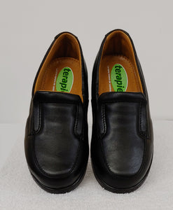 Black Slip-On Therapeutic Shoe