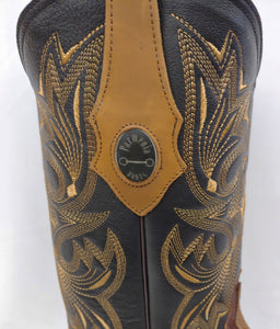 Mens Square Toe Cowboy Boot