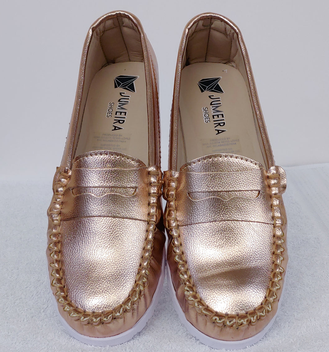 Rose Gold Loafers