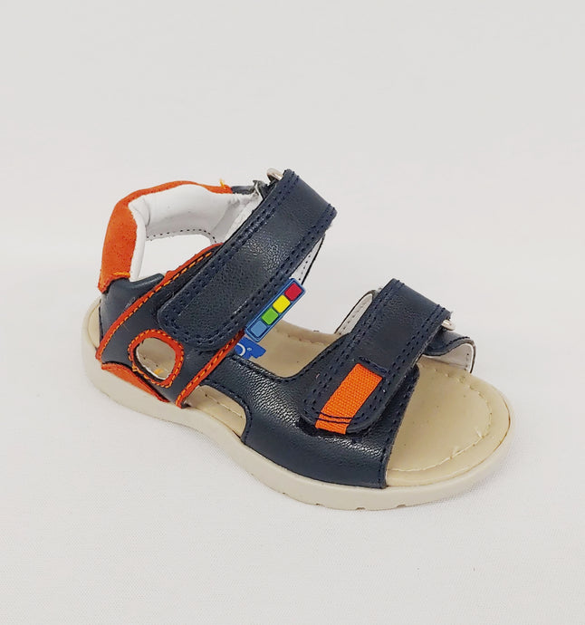 Ferrato® Boys Navy Blue Ankle Sandal