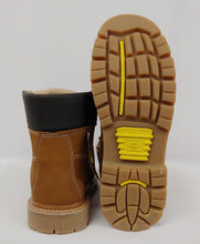 Tan Steel Toe Cap Work Boot