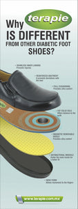 Brown Slip-On Therapeutic Shoe
