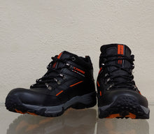 Mens Hungaro Black Hiking Shoe