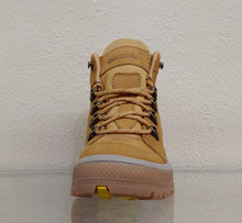 Mens Straw Colored Nubuck Boot