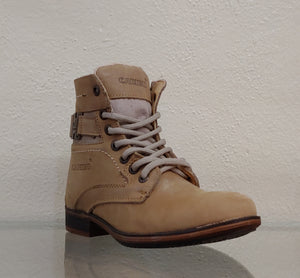 Mens Rustic Casual Sand Boot