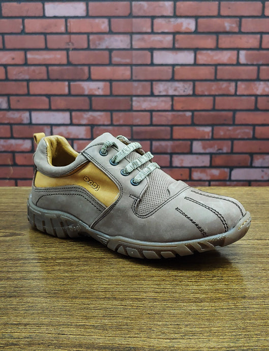 Dogi® Boys Brown Lace-Up Tennis Shoe