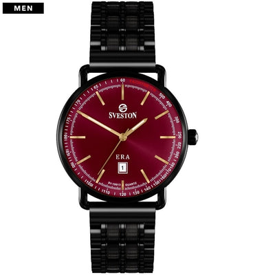Sveston Ontario Royal Sv-19013 Maroon-Black Stick