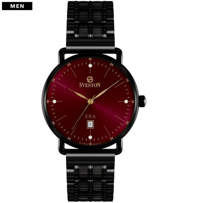 Sveston Ontario Royal Sv-19013 Maroon-Black Stone