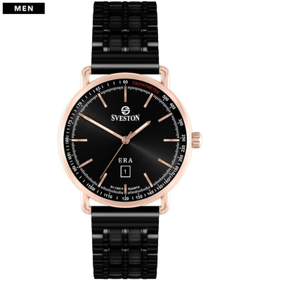 Sveston Ontario Royal Sv-19013 Rose-Gold Black Stick