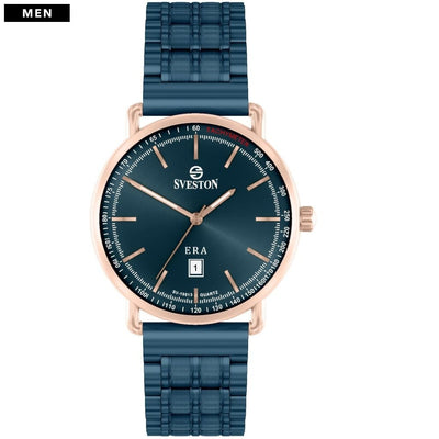 Sveston Ontario Royal Sv-19013 Rose-Gold Navy Stick