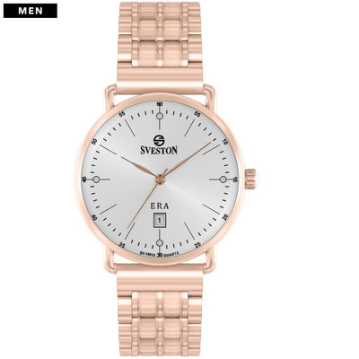 Sveston Ontario Royal Sv-19013 Rose-Gold White Stone