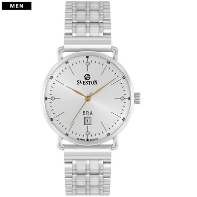 Sveston Ontario Royal Sv-19013 Silver-White Stone