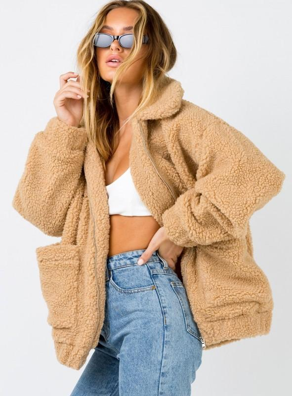 Pixie faux shearling  jacket