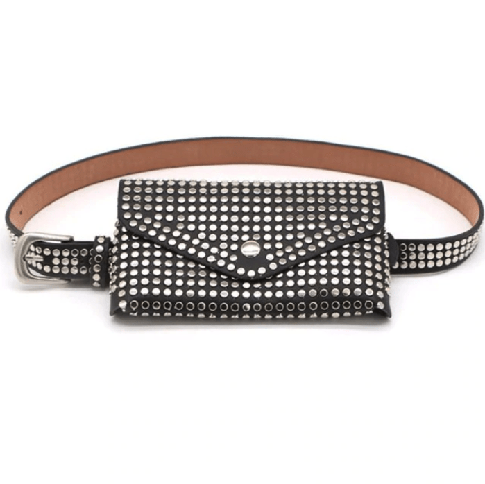 Cécile rivet belt bag