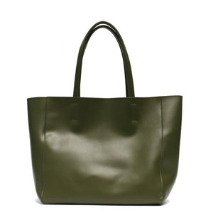 Allison tote in genuine leather