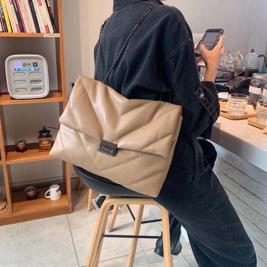 Lauren quilted puffer crossbody