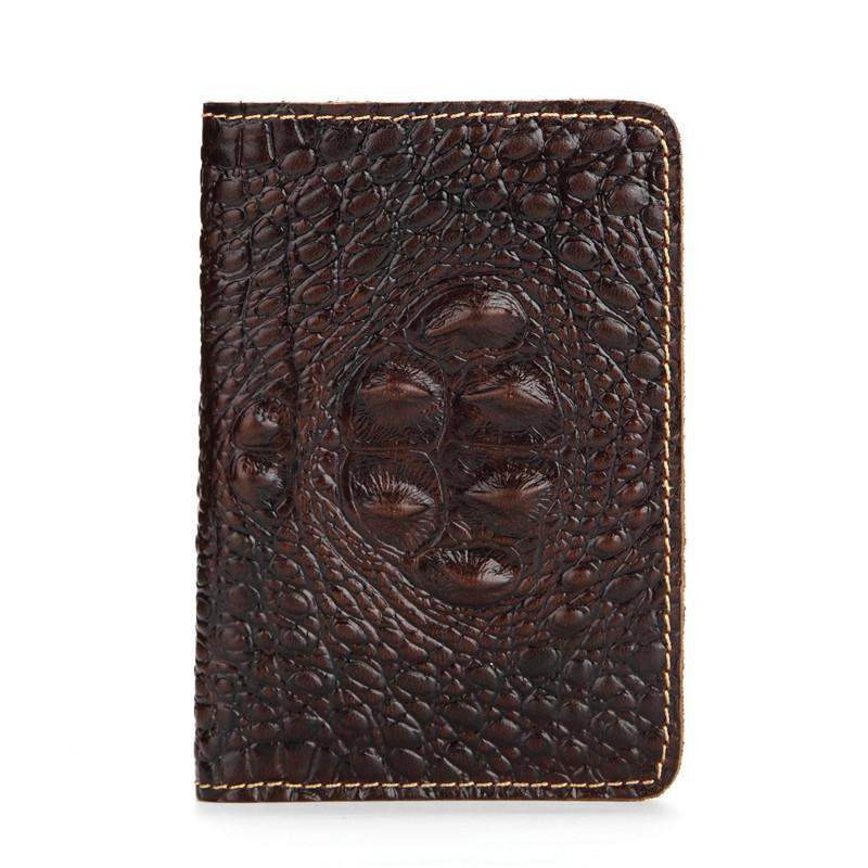 Vintage Leather Passport Cover