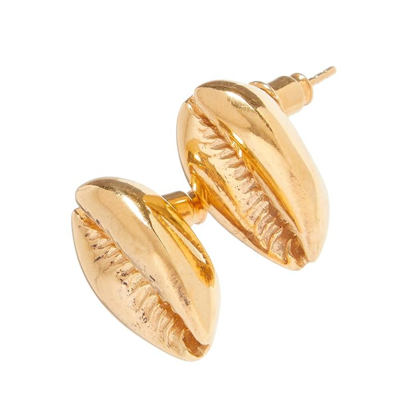 Riva shell drop earrings