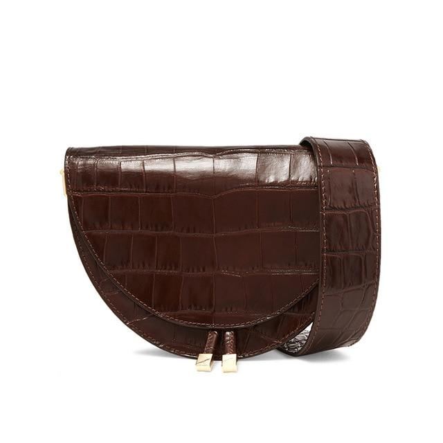 Laura saddle crossbody