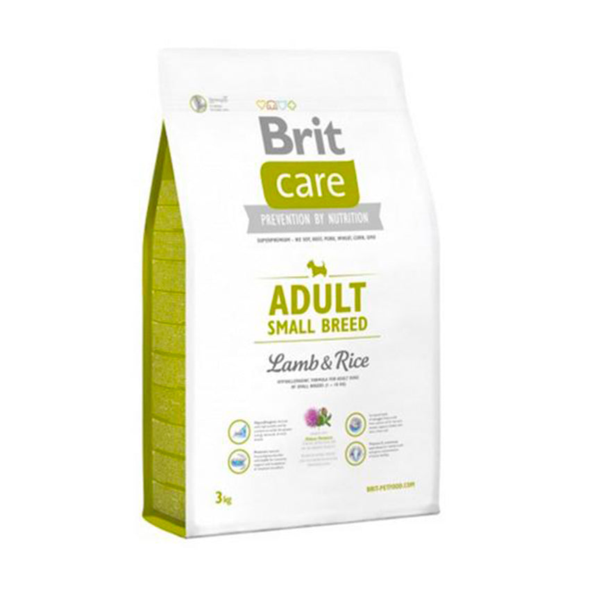 Brit Care Adult Small Breed Lamb & Rice 3 y 7,5k