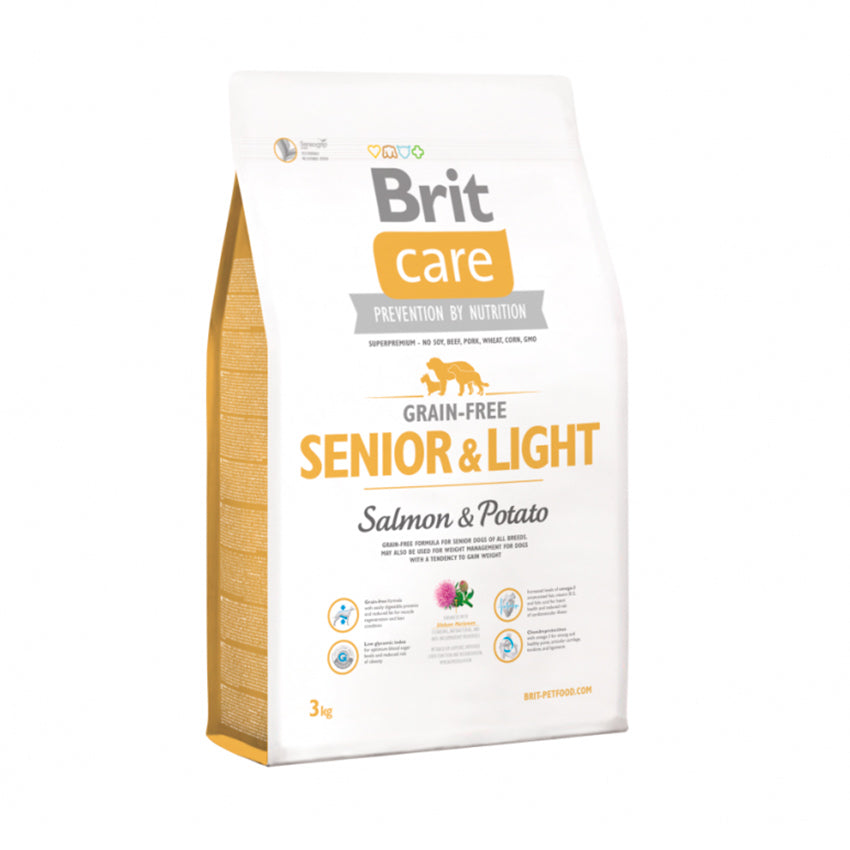 Brit Care Senior GF Light Salmon