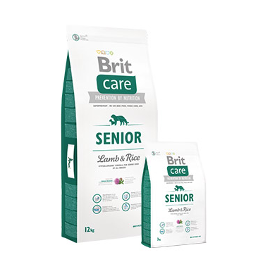 Brit Care Senior  Lamb & Rice 3 y 12 kg