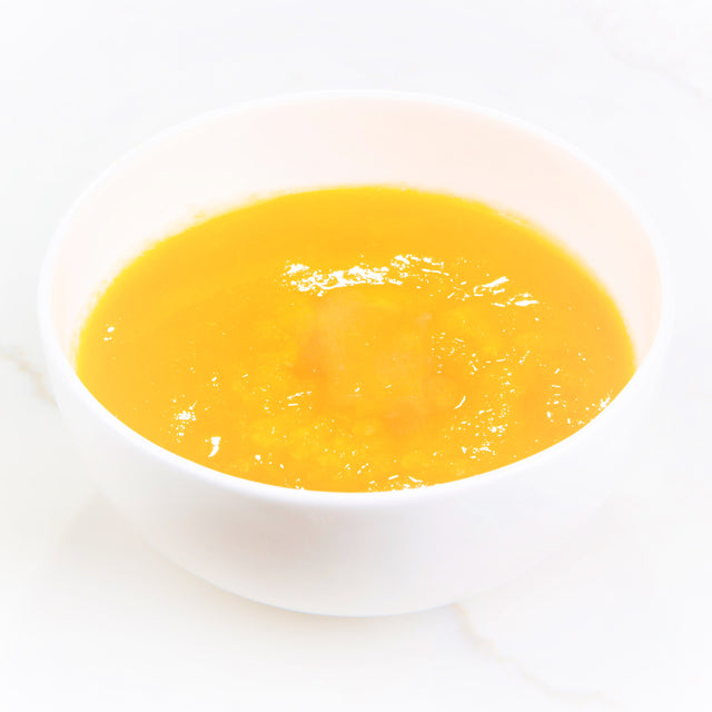 pumpkin puree in a bowl