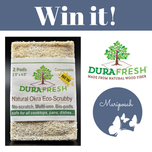 Win it! DuraFresh Eco-Friendly Okra Scrub Pads Giveaway
