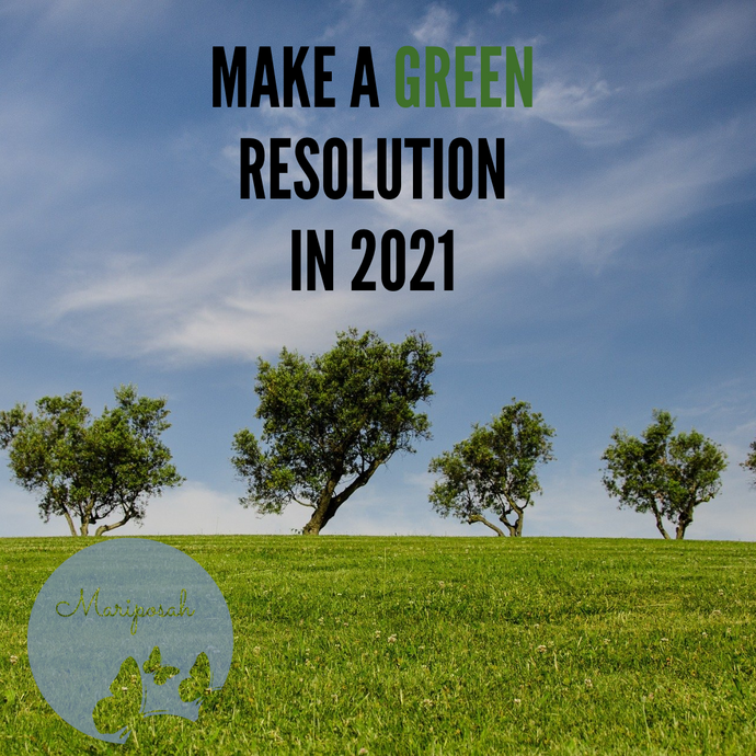 "Make a ""Green"" New Year's Resolution in 2021"