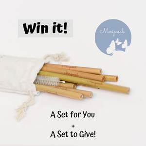 Win it! Mariposah Straws for You & to Gift - Giveaway
